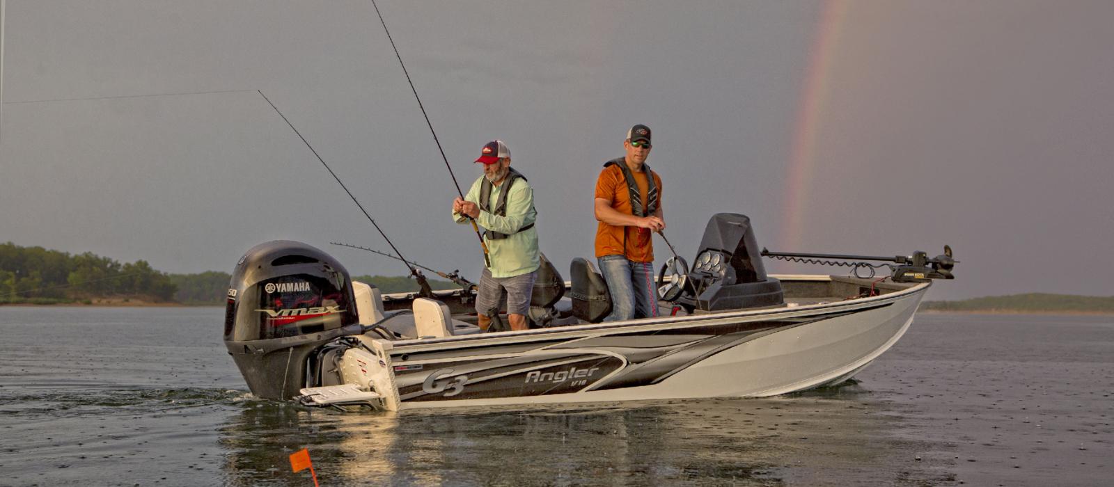 Angler V18C Fishing