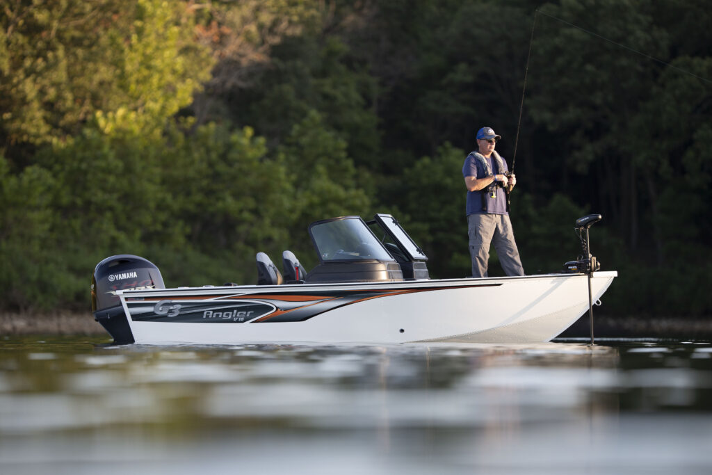 Built to endure. Learn more about the Angler V16 F.